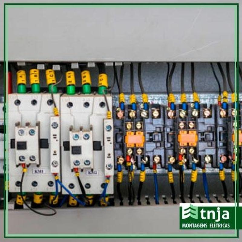 Construção de Rede Elétrica Comercial Cerqueira César - Construção Elétrica em Galpão Industrial