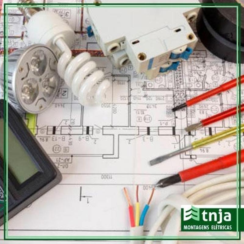 Construção Elétrica Comercial Ipiranga - Construção Elétrica em Galpão Industrial