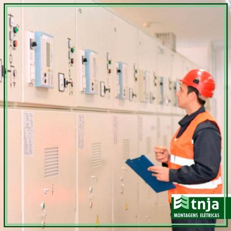 Esquema de Instalação Elétrica Parque Dom Pedro - Empresa Instalação Elétrica