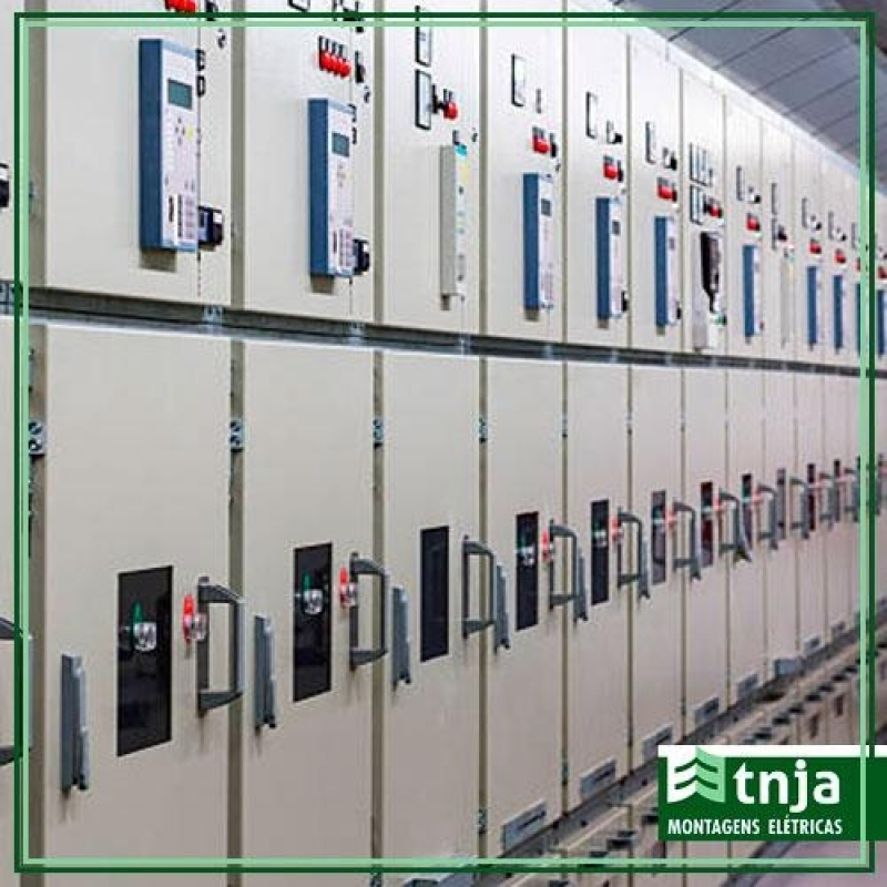 Instalação de Cabine Primária de Energia Elétrica Guarulhos - Cabine Primária Blindada