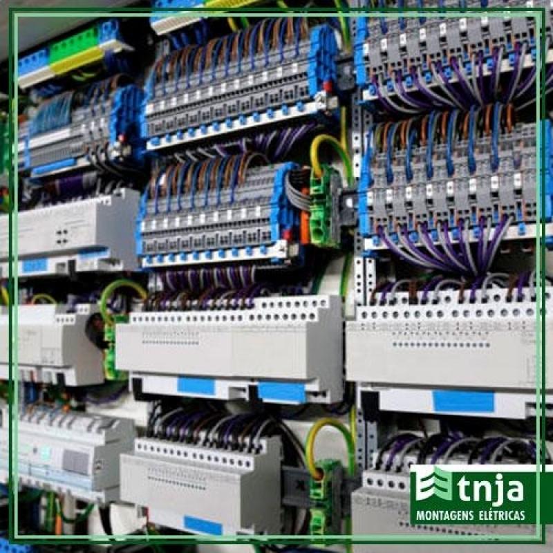 Instalação de Painel Elétrico Comercial Completo Sacomã - Instalação de Painel Elétrico Completo