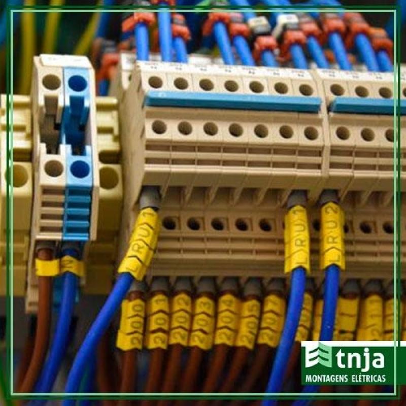 Instalação Quadro Distribuição Elétrica Vila Curuçá - Instalação de Painel Elétrico Completo