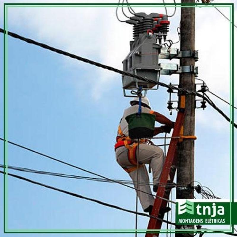 Montagem Posto Primário Simples Completa Chácara Santo Antônio - Montagem Posto Primário Simples Completa