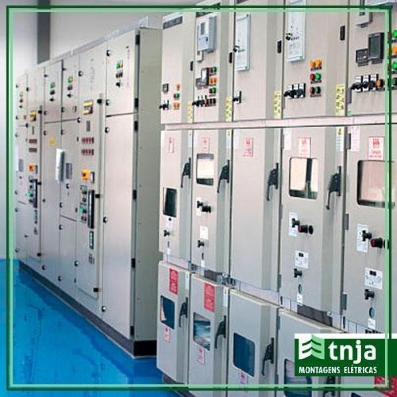 Onde Tem Construção de Rede Elétrica Comercial Pinheiros - Construção Elétrica Industrial