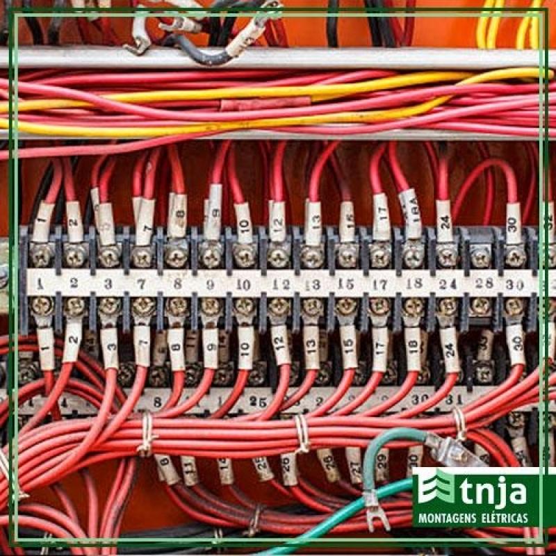 Orçamento de Instalação de Painel Elétrico Comercial Completo Sé - Instalação de Painel Elétrico Completo