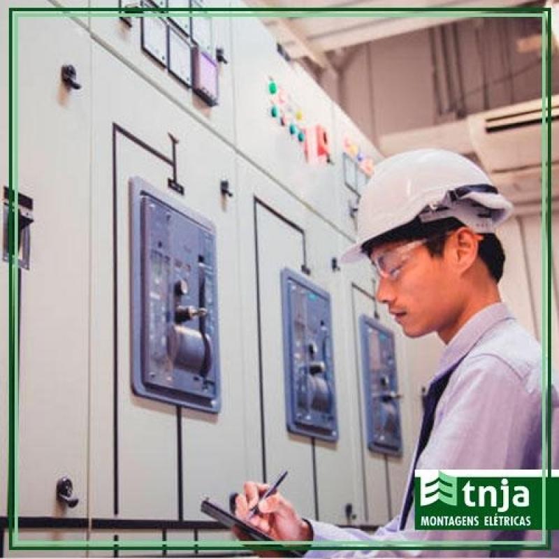 Projeto Elétrico Industrial Galpão Cidade Dutra - Projeto Elétrico Industrial