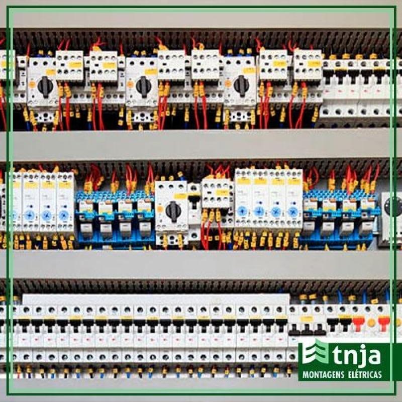 Serviço de Instalação de Painel Elétrico Industrial Butantã - Instalação de Painel Elétrico Completo