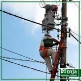 construção de rede elétrica industrial Vila Maria