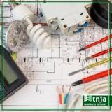 construção rede elétrica comercial Valinhos