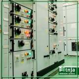 construção de rede elétrica comercial