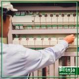 construção rede elétrica comercial