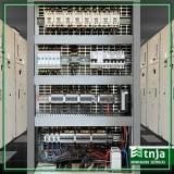 instalação de quadro elétrico monofásico Pacaembu