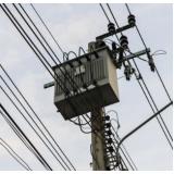 instalação elétrica de alta tensão