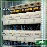 instalação elétrica estilo industrial