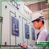 instalação elétrica industrial de alta e baixa tensão